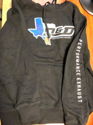 D and D Performance Exhaust Hoodie