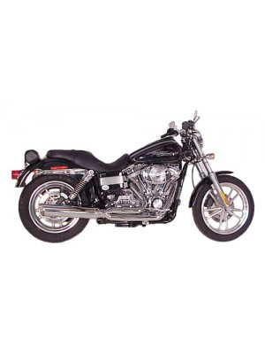 2006-2017 Harley Dyna Fat Cat 2:1 Full Exhaust System