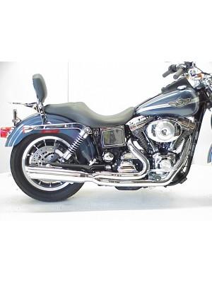 1995-2005 Harley Dyna Boarzilla 2:1 Full Exhaust System