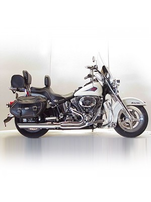 1984-2017 Harley Heritage Softail Fat Cat 2:1 Full System