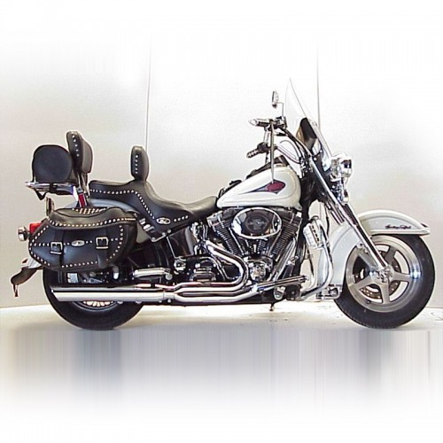 1984-2017 Harley Heritage Softail Fat Cat 2:1 Full Exhaust System