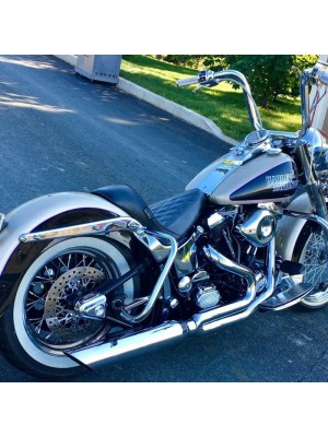 1984-2017 Harley Softail Fat Cat 2:1 Full Exhaust System