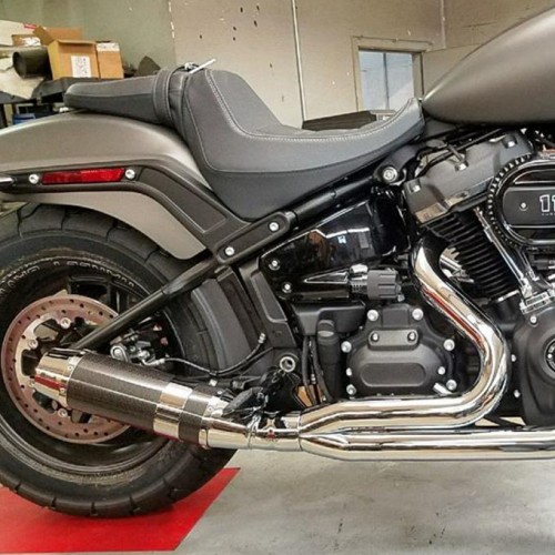 2018-2019 2:1 Softail M8 Bob Cat Up-Swept