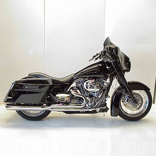 2007-2008 Harley Touring Boarzilla 2:1 Full Exhaust System