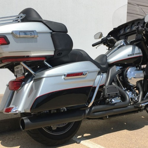 2009-2016 Harley Touring Diablo Gato 2:1 Exhaust