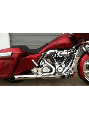 2009-2016 Harley Touring Stubby Cat Exhaust
